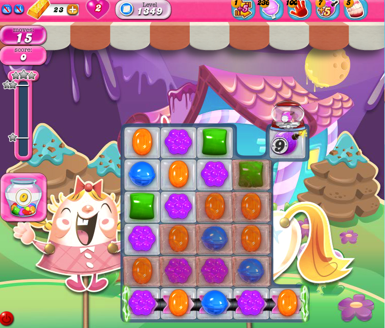 Candy Crush Saga 1349