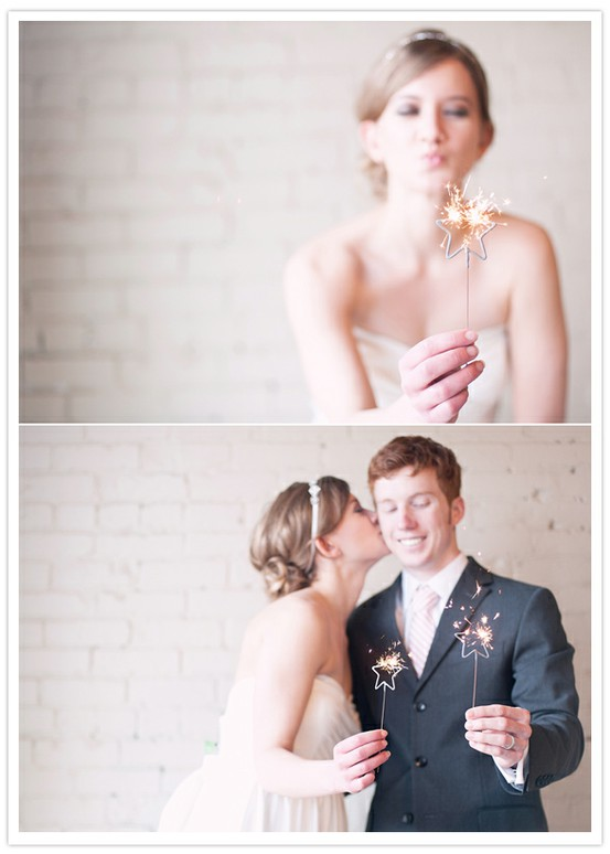 Wedding Sparklers Ideas and Inspiration - Star Sparklers Bride and Groom