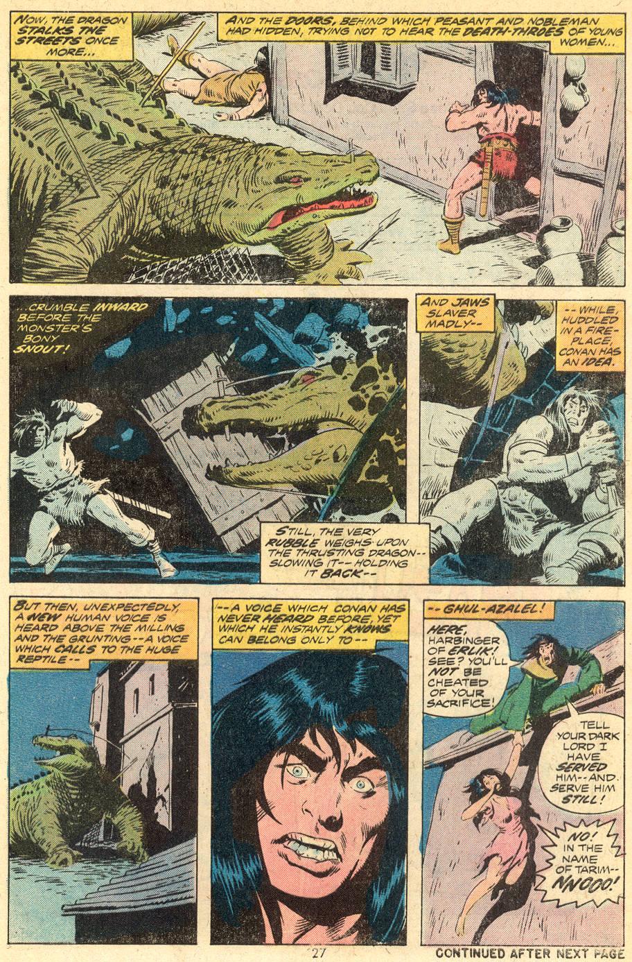 Conan the Barbarian (1970) Issue #39 #51 - English 17