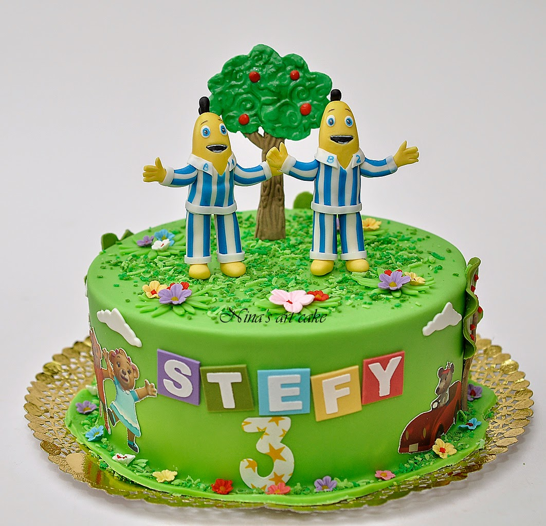 "Tort ""Banane in pijamale"" pentru Stefy"
