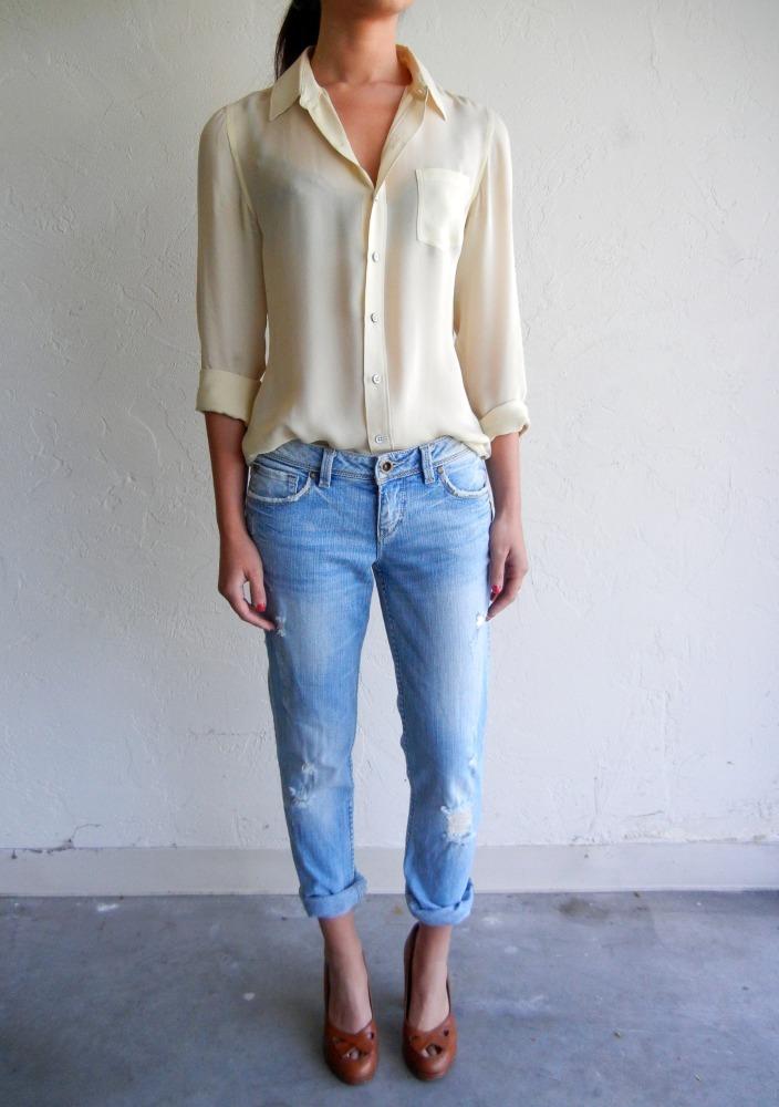 Glitter And Gold Fashion Obsession Boyfriend Jeans