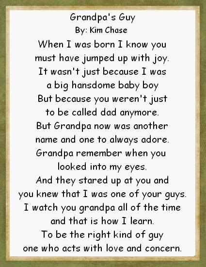 i love you grandpa poems - photo #5
