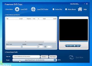 Freemore Audio Video Suite - DVD Copy