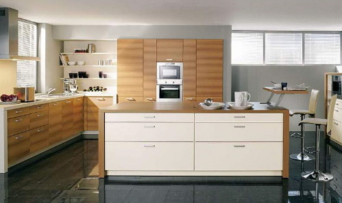 Contemporary Modern Kitchen ~ Medium Interior Design