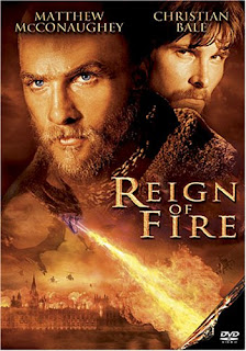 Watch Reign of Fire 2002 BRRip Hollywood Movie Online | Reign of Fire 2002 Hollywood Movie Poster