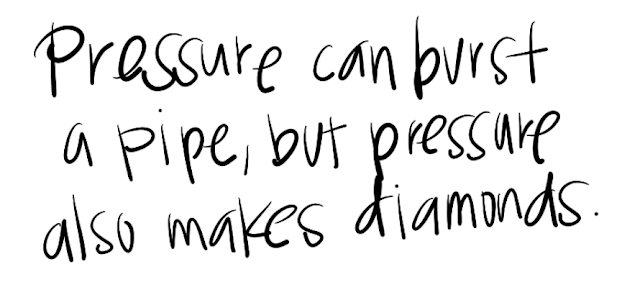 Motivational Quotes : Pressure - Kshitij Yelkar