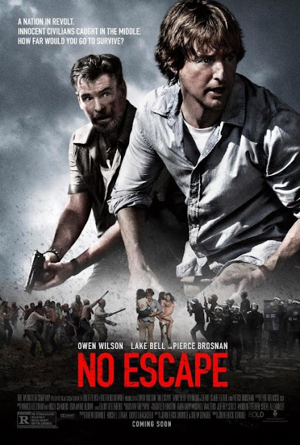 Sinopsis Film No Escape 2015 (Pierce Brosnan, Lake Bell, Owen Wilson)