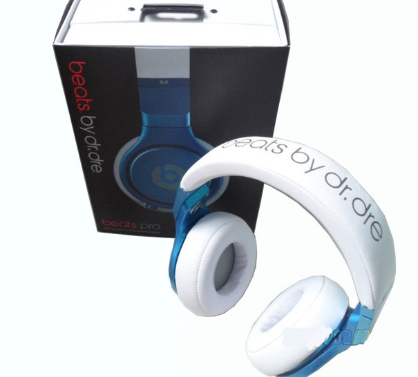 beats by dr.dre: Blue Beats Pro by Dr. Dre Headphones Beats By Dre Blue