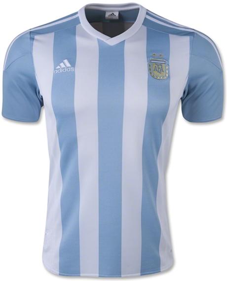 Argentina 2015 Copa America adidas Home Jersey