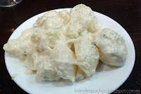 Patatas alioli de El Laurel