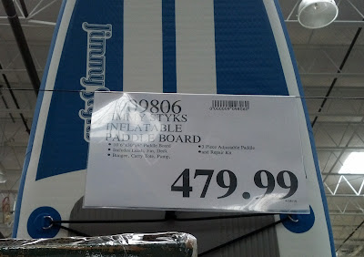 Deal for the Jimmy Styks i3 Inflatable Stand Up Paddle Board at Costco