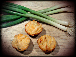 Recipe: Gruyère-scallion mini popovers