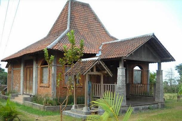 Rumah Tinggal Bergaya Desain Rumah Joglo