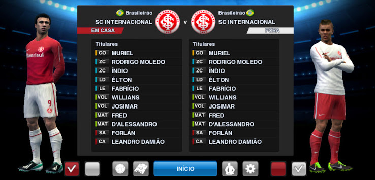 PES 2013 SC Internacional 2013 Kit Set by Tasci