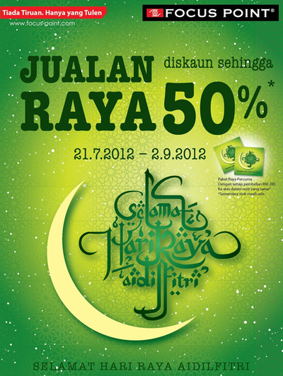Focus Point Raya Sale 2012