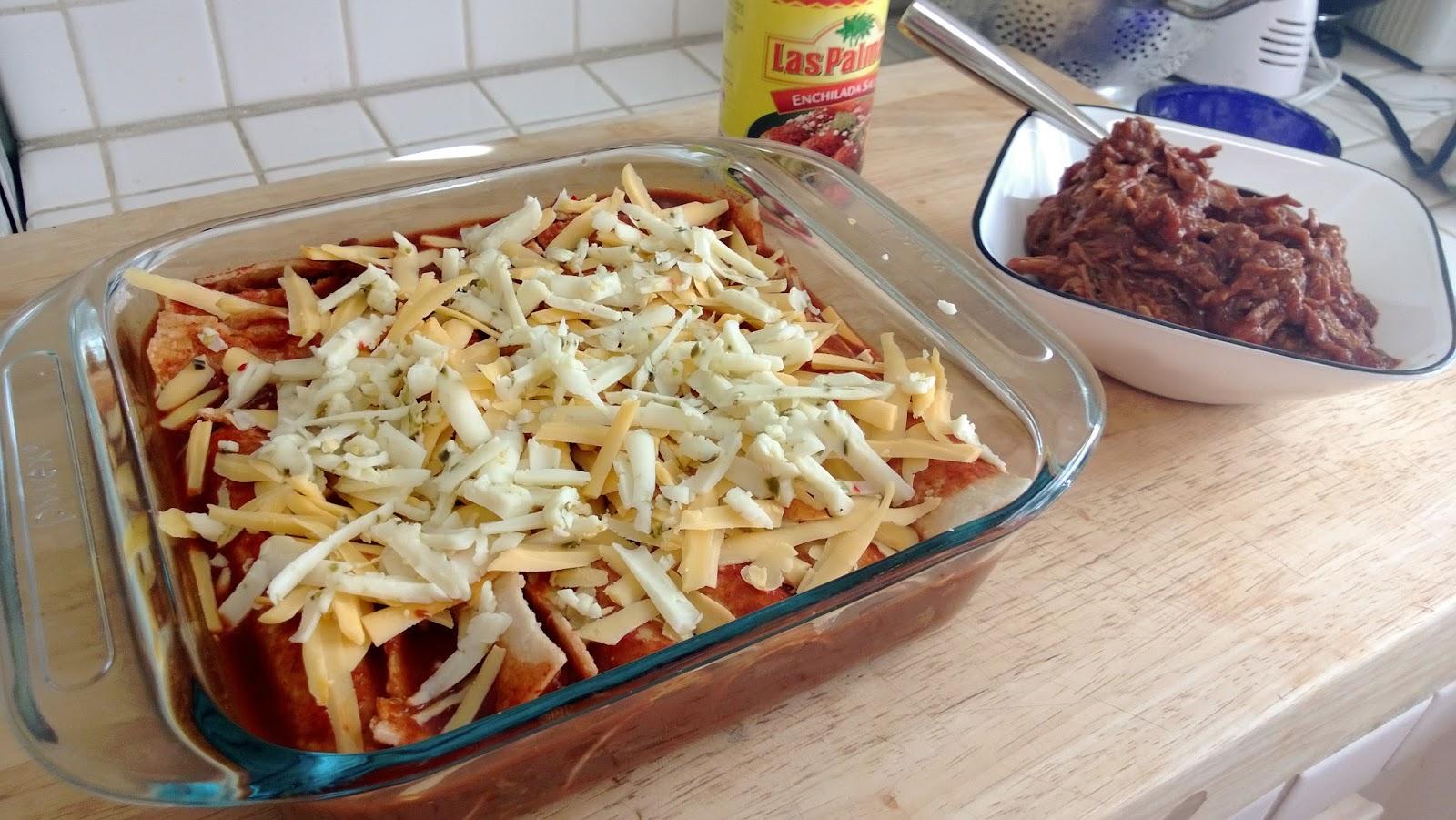 how to cook corn tortillas for enchiladas