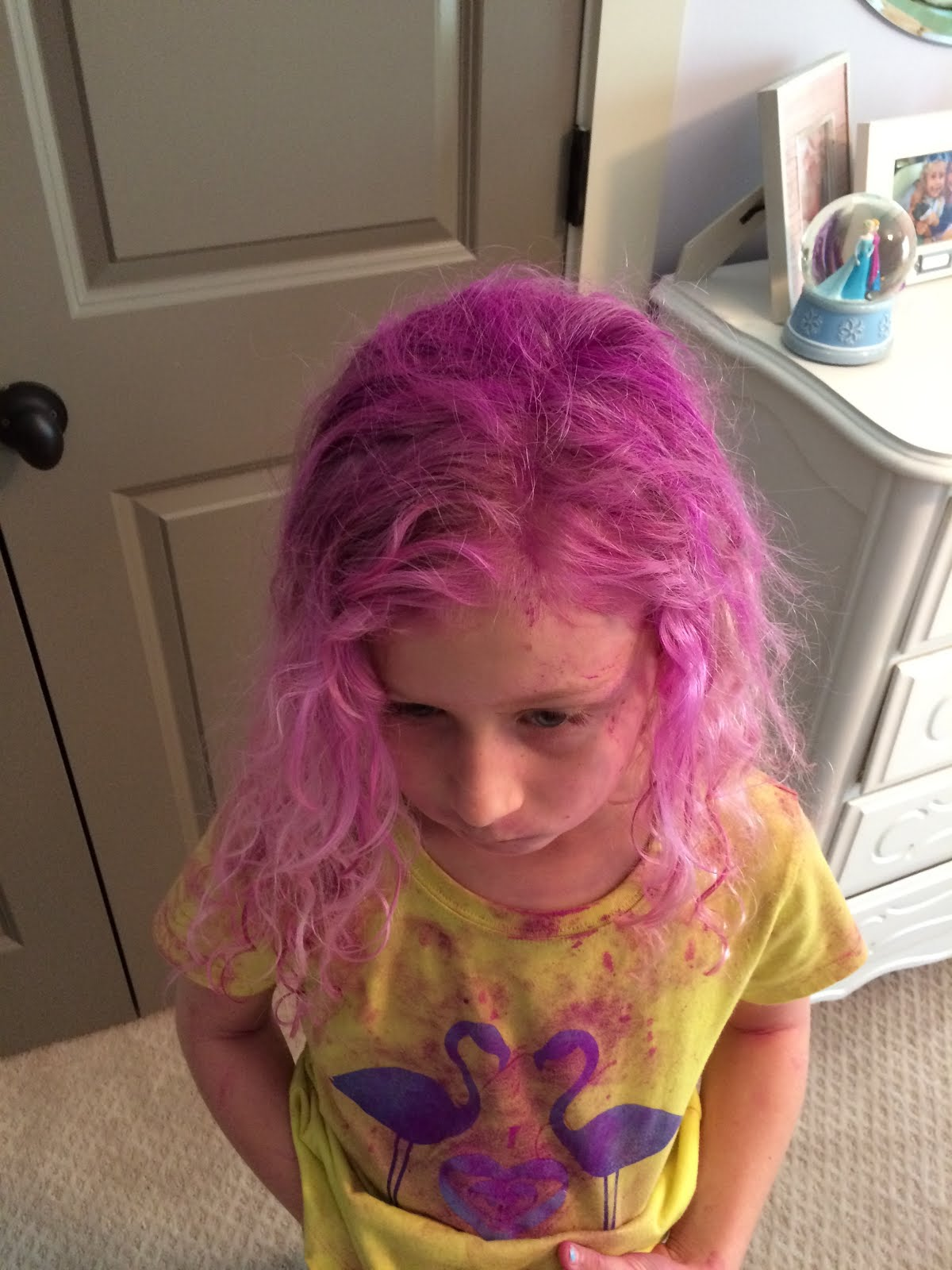 Magnolia Mamas Color Run Stained Hair