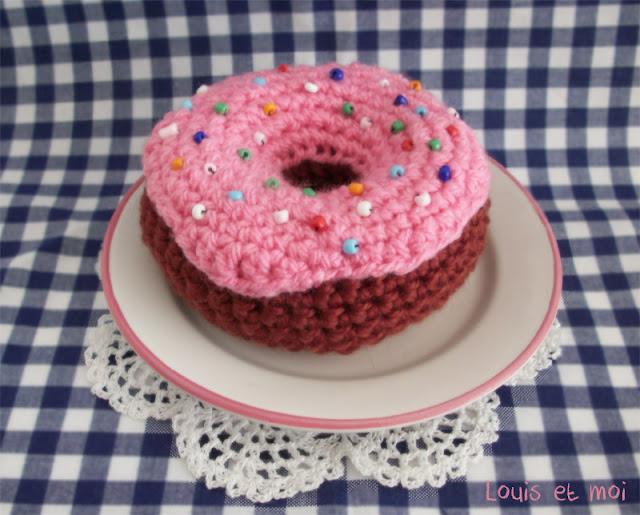 Louis et Moi (cosen y hacen crochet): Donut de amigurumi