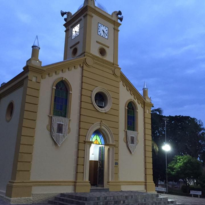 Igreja Matriz Sagrado Coração de Jesus Nova Europa SP