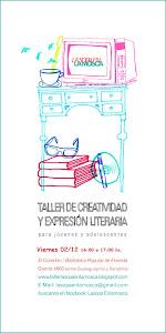 TALLER DE CREATIVIDAD Y EXPRESIÓN LITERARIA