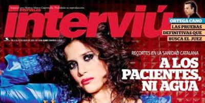 Ruth Armas posará en Revista Interviú de Julio de 2011.
