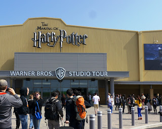 Image of WB Harry Potter Studio Tour from entrance