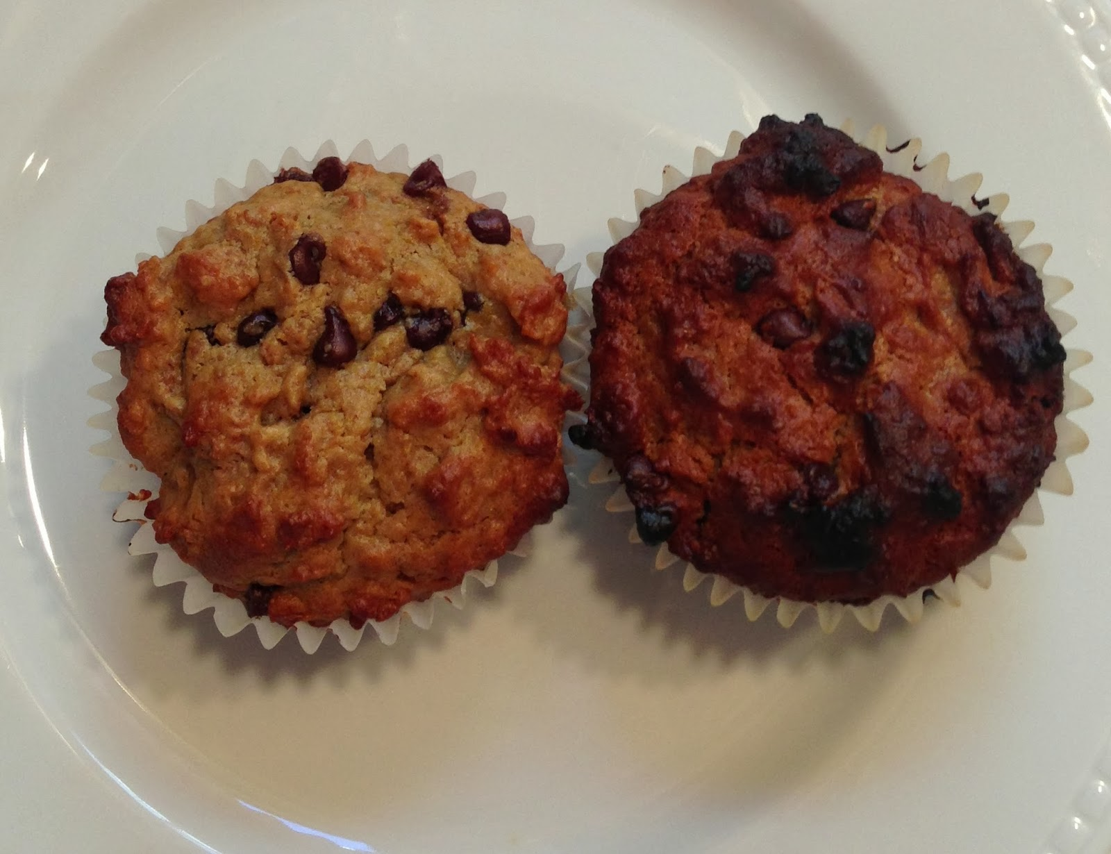 Sunflower butter bran muffins were AMAZING! H had these in his lunch ...