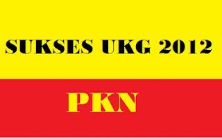Soal UKG Online PKN 2015 , Hari Pertama img