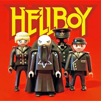 Playmobil personalizados Hellboy
