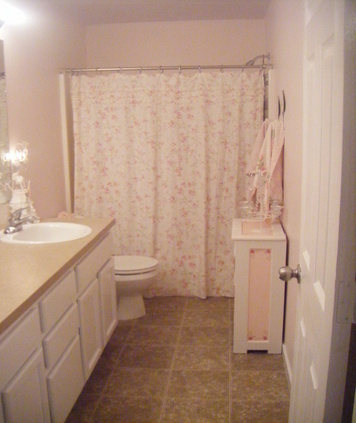 Shabby Chic Master Bathroom. Master Bathroom