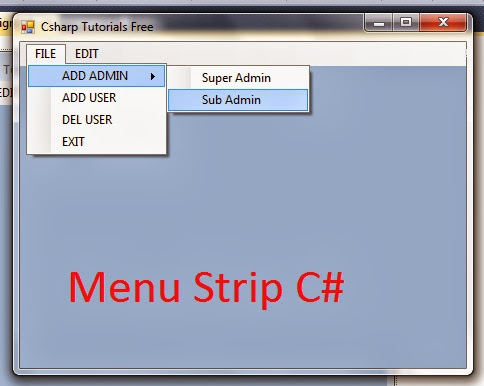 how to create a gui event handler c