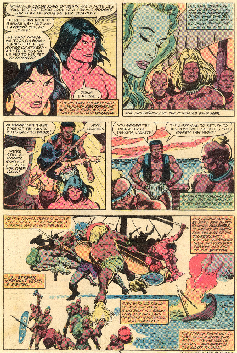 Conan the Barbarian (1970) Issue #98 #110 - English 6