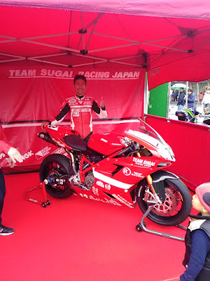 TEAM SUGAI RACING JAPAN・須貝義行選手・1098R