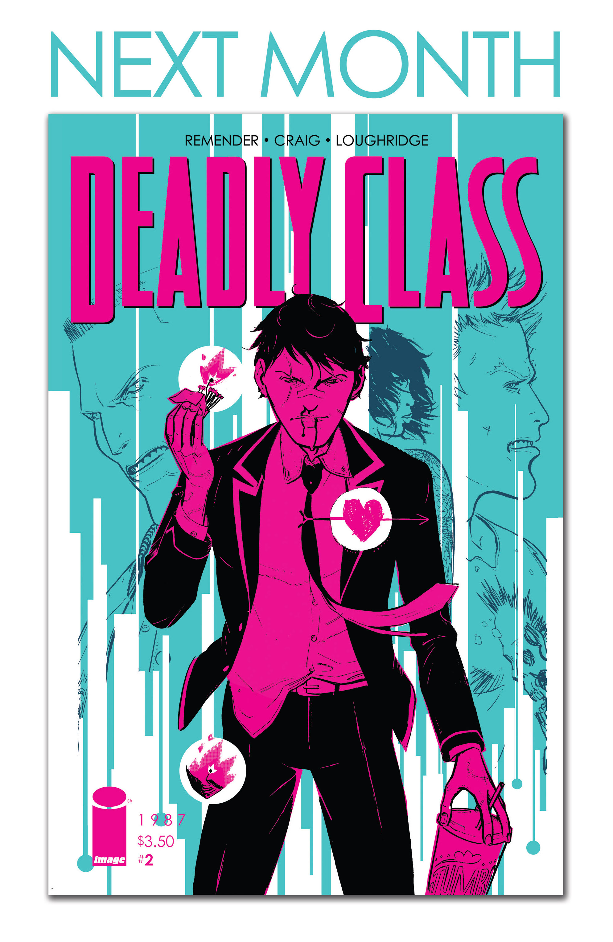 Read online Deadly Class comic -  Issue #1 - 31