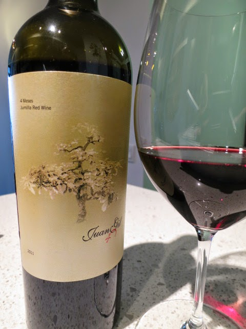 Wine Review of 2011 Juan Gil 4 Meses from DO Jumilla, Spain (88+ pts)