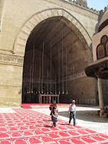 Open Air Teaching Vaults and Central Square of Mosque-Madrasa of Sultan Hasan, Cairo