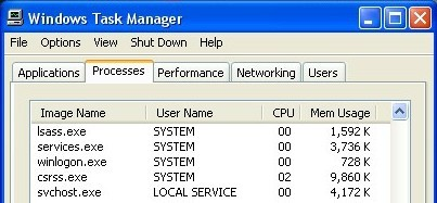 task manager how to get options back