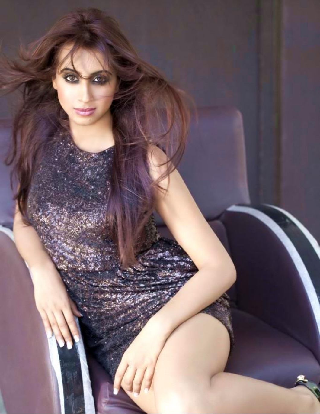 Sanjana Portfolio Hot Photo Shoot Stills