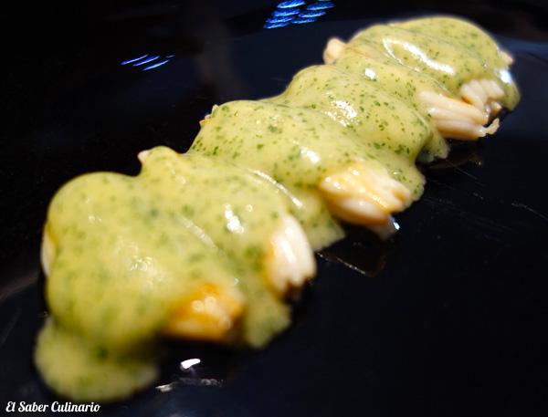 pil-pil de espardeñas macarena de castro
