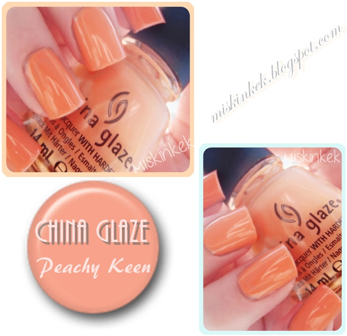 oje,nail polish,China Glaze,Peachy Keen