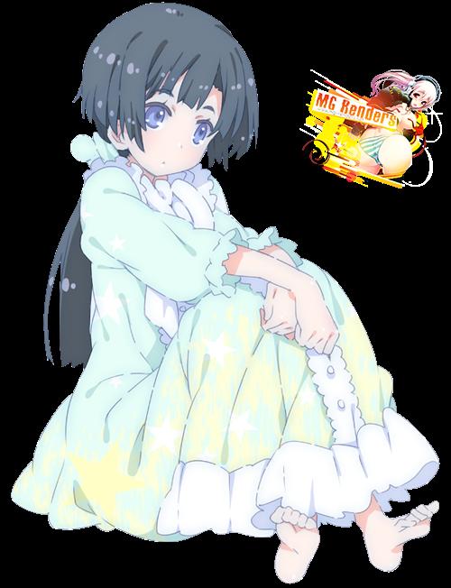 Tags: Anime, Render,  Akishino Himeka,  Ore no Kanojo to Osananajimi ga Shuraba Sugiru, PNG, Image, Picture