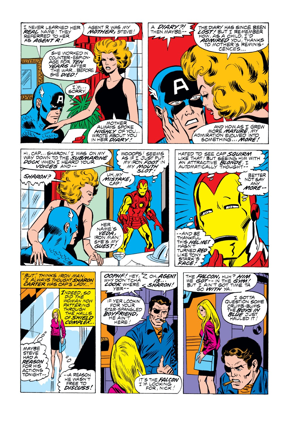 Captain America (1968) Issue #218 #132 - English 6