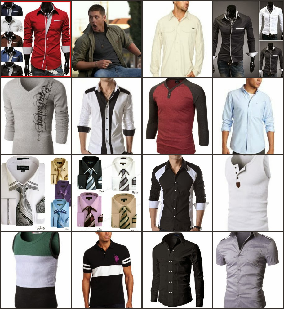 Men Shirts and T-Shirt
