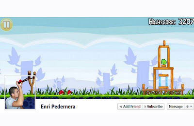 Facebook Cover, Kreatif. angry bird