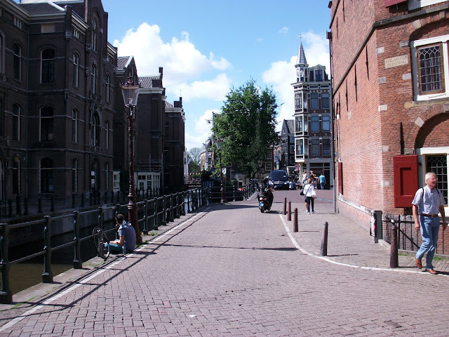 Schöne Häuser in Amsterdam