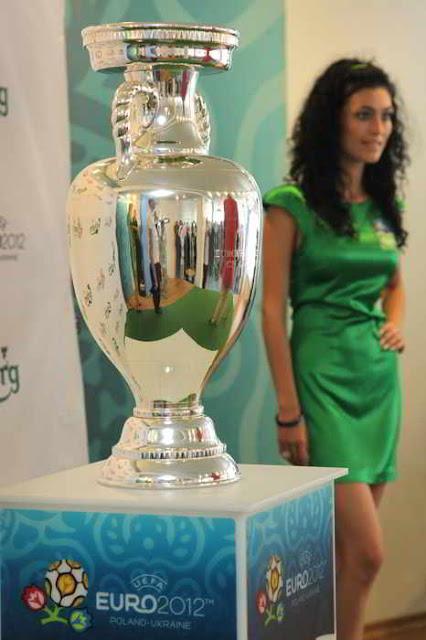 Фото Укринформ: кубок УЕФА - в Украине