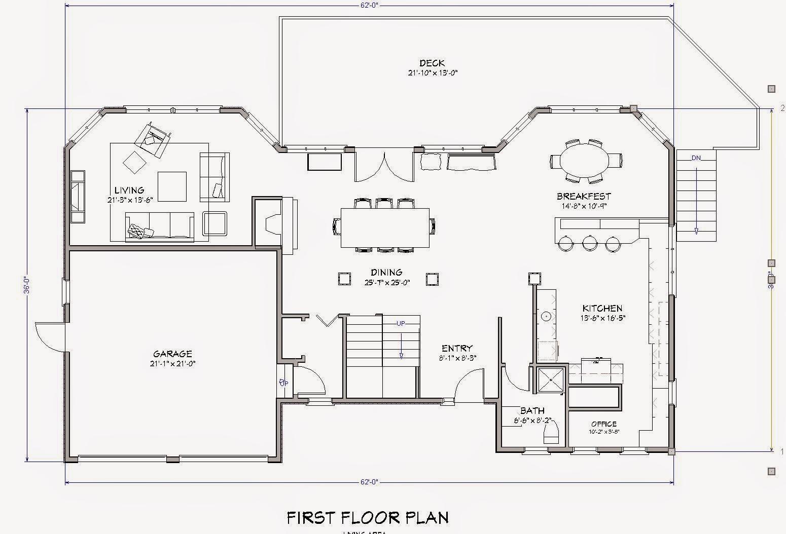 Dibujo tecnico facil de hacer planos para una casa for Imagenes de planos de casas