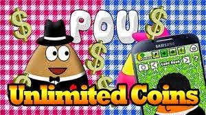POU Mod Apk Terbaru 2015 (Unlimited Money Coins) Cover Logo by http://jembersantri.blogspot.com