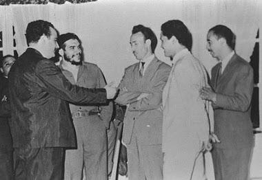 Avec Boumediène à Alger en juillet 1963