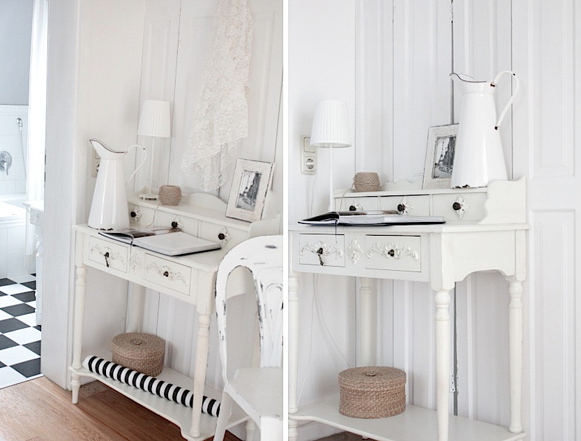 white and shabby shutters and more. Black Bedroom Furniture Sets. Home Design Ideas